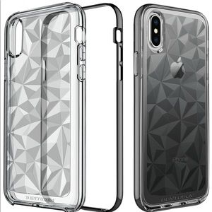 iPhone X Case 2017 BENTOBEN Clear/Black, iPhone 10